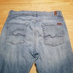 7 For All Mankind BootCut Jean's Size 31x32